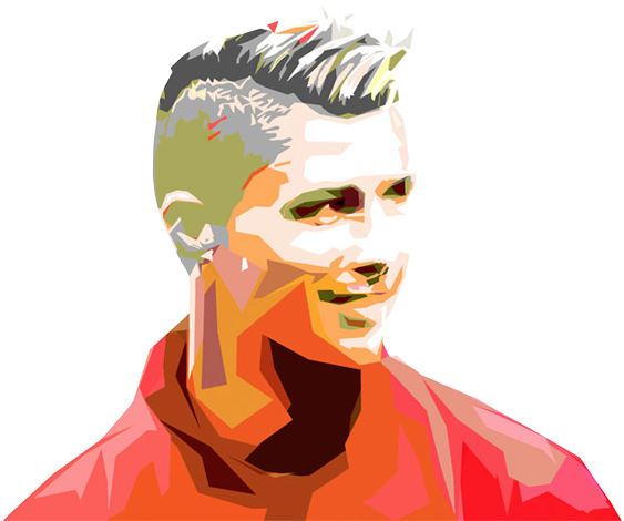 Cristiano Ronaldo facing left